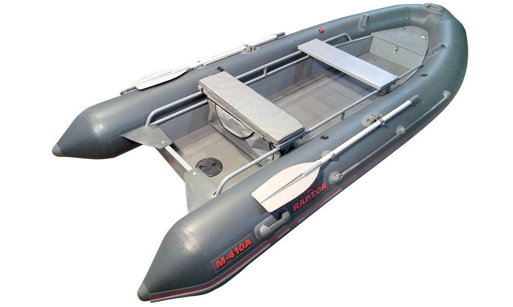 Алюминиевый РИБ «Раптор М-410»