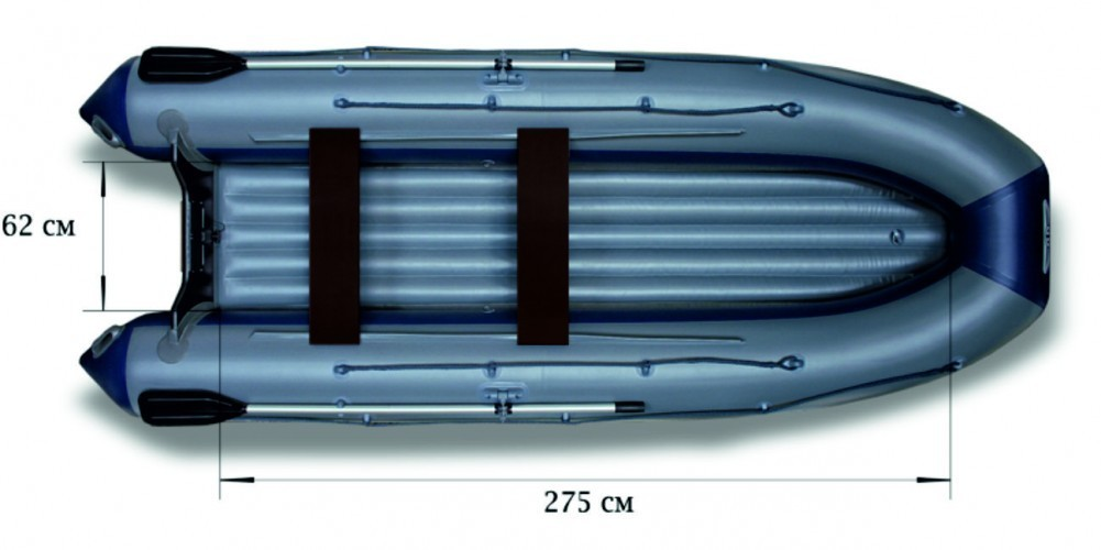 Моторная надувная лодка «ФЛАГМАН - 380IGLA»