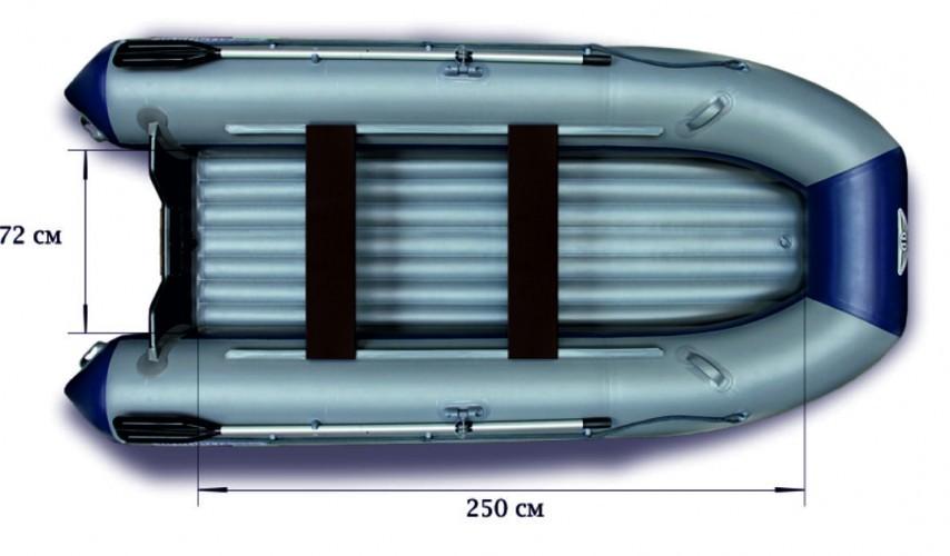 Моторная надувная лодка «ФЛАГМАН - 350»