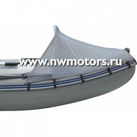 Тент носовой без окна для лодки 450-550 см