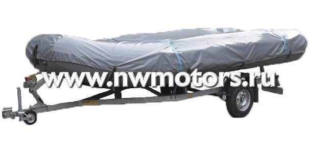 Тент транспортировочный для лодки 410-420 см