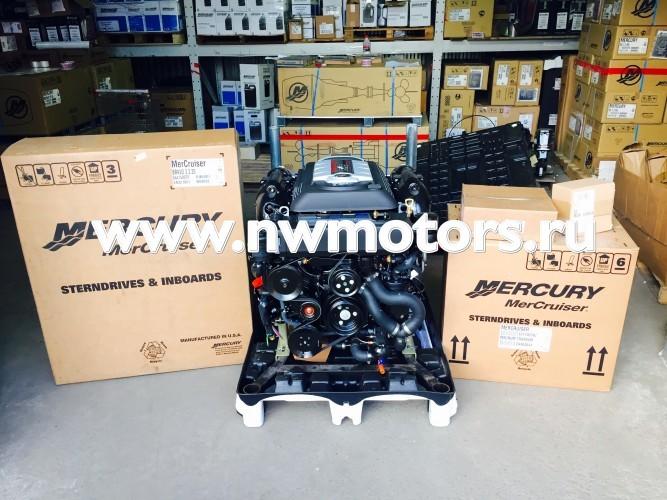 Комплект: двигатель Mercruiser 6.2L 300 л.с. + транцевая сборка Mercruiser Bravo + поворотно-откидная колонка Mercruiser Bravo Three 3