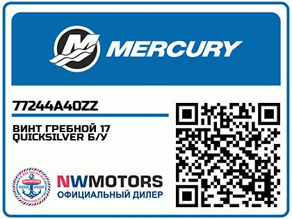 ВИНТ ГРЕБНОЙ 17 QUICKSILVER Б/У Аватар