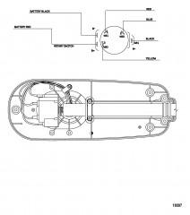 Схема электрических подключений (Модель T25) (с быстроразъемным соединением)