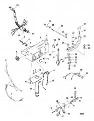 Комплект рукоятки рулевого механизма