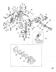 Схема Карбюратор (10/XR/Magnum 10/Viking)