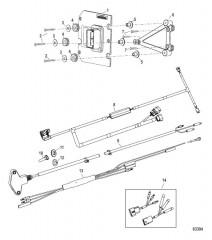 Комплект Active Trim_без клавиатуры Одинарный двигатель– F75/90/115 EFI