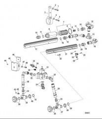 Компоненты топливопровода (Конструкция II)