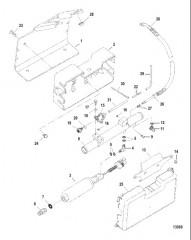 Схема Fuel Pump and Fuel Cooler