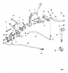 Рычажный механизм (Выносной)(длинный)