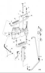 Схема Топливные шланги