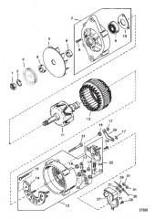 Схема ГЕНЕРАТОР (MANDO №AC155603)