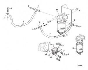 Топливный насос и фильтр (Все механические двигатели)