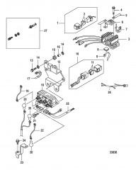 Электрические компоненты Выпрямитель– 0R721383 и ниже