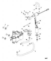 Схема Паросепаратор в сборе