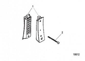 Комплект крышки пластины водоприемника