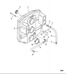 Схема Комплект пусковой системы с поворотным ключом (Стр. 2 из 3)