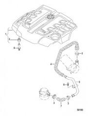 Схема HEAD AND ENGINE COVERS
