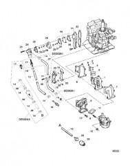 Схема Топливная и рециркуляционная система