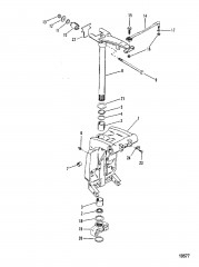 Шарнирный кронштейн (Отливка №1499-8710-6)