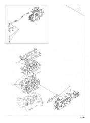 Схема Комплект для технического обслуживания – набор прокладок КАПИТАЛЬНЫЙ РЕМОНТ ГОЛОВКИ ЦИЛИНДРА