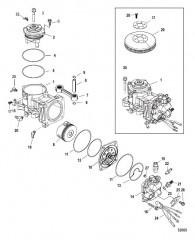 Компоненты воздушного компрессора С/н 1B885132 и выше
