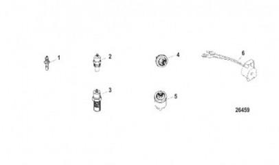Схема Датчики и переключатели
