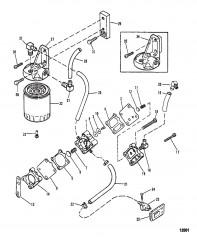 Топливный насос и топливный фильтр