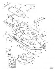 Схема Модели Air Deck (Светло-серый Lodestar)