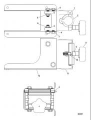 Понтонное крепление (MBK300132)