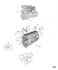 Двигатель/блок цилиндров