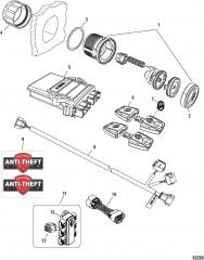 Theft Deterrent System-Dual Race 1100/1350