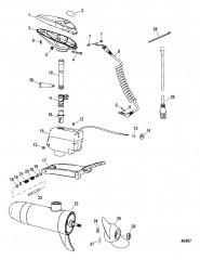 Двигатель для тралового лова в сборе (Sonar Fresh Water)(конструкция II)