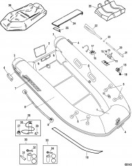 Модель Mercury Aluminum Rib 270/320 (с алюминиевым ребром) (Светло-серый)
