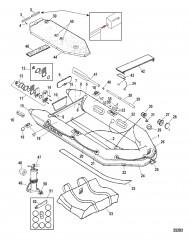 Схема Модели Quicksilver Air Deck (Белый)