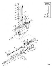 Схема КАРТЕР РЕДУКТОРА (BRAVO ONE)