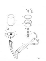 Схема Remote Oil Filter