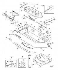 Схема Модели Ultra Light Craft (Светло-серый/темно-синий)