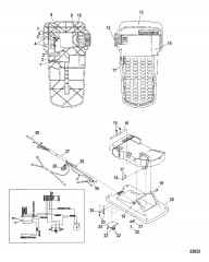 Ножная педаль в сборе (M899723T)