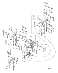 Схема Поворотный кронштейн Power Tilt