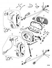 Дистанционное управление – 4000, боковая установка (14-конт.)
