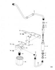 Схема Топливный фильтр и топливный насос 383 Mag Bravo 4V