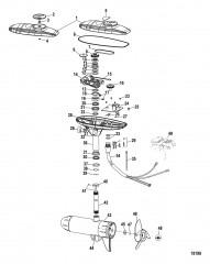 Схема Двигатель для тралового лова в сборе (TRES109PFB) (36 В)