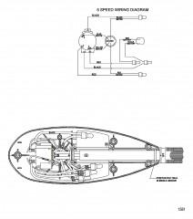 Схема электрических подключений (Модель TT4500) (12 В)