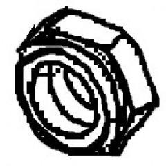 NUT, (.250-28)
