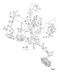 Схема TURBOCHARGER BSP