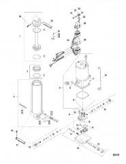Насос/двигатель в сборе (830250A3)