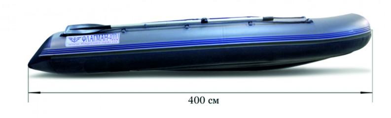 Моторная надувная лодка «ФЛАГМАН - 400U» Изображение 4