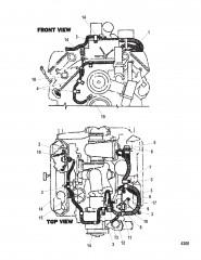 Схема Электропроводка двигателя