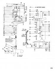 Двигатель для тралового лова в сборе (Модель GWF67V) (24 В)